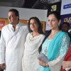 Sanjay Dutt, Manyata Dutt and Pratibha Advani at premiere of film Parinda at PVR