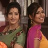 Debina Bonnerjee and Shilpa Shinde as Mayuri and Koel in Chidiya Ghar