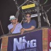 Akshay Kumar and Ritesh Deshmukh at air balloon music promotion of Housefull 2