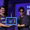 Shahrukh Khan unveils KKR-Nokia campaign for IPL at Hotel Taj Lands End in Mumbai