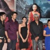 Karishma Kapoor and Divya Dutta at the first look launch of 'Dangerous Ishq' at PVR. .