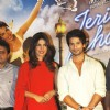 Shahid and Priyanka at 'Teri Meri Kahani' promo launch at Cinemax in Mumbai