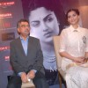 Sonam Kapoor at Khalid Mohammed book launch, Tryst in Mumbai. .