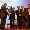 Finance Minister Pranab Mukherjee at Bloomberg UTV Awards at Taj Lands End. .
