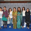 Neha Dhupia, Soha Ali Khan, Mary Kom and Ira Dubey with their mothers at P&G Thank You Mom campaign launch