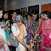 Raageshwari and Shruti Seth at Lotus art exhibition in Prince of Wales Museum