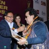 Rakesh Bedi, Aashka Goradia and Bappi Lahiri  at the Golden Achievers Awards