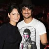 Sushant Singh Rajput and Ankita Lokhande At Bombay Times Bash