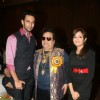Nandish Sandhu, Bappi Lahiri and Sugandha Misra at Golden Achiever Awards 2012