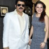 Rajesh Khattar and Udita Goswami at launch of Monarch Universal corporate office at Navi Mumbai