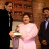 Harish Shah, Saroj Khan and Kailash Masoom at Dr. Ambedkar Awards