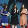 Raveena Tandon, Rakshanda Khan and Sania Mirza at NDTV India's chat show Issi Ka Naam Zindagi