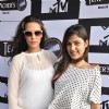 Neha Dhupia & Amy Jackson at MTV India's Pool Side Party at Hotel Sea Princess in Juhu, Mumbai