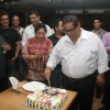 Satish Kaushik celebrated his birthday with friends at Wild Wild West in Andheri, Mumbai