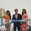 Neha Dhupia, Chitrangda Singh and Arbaaz Khan at Gillete shave event