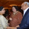 Asha Bhosle, Yash Chopra and Pamela Chopra at Bappa Lahiri and Taneesha Verma Wedding Reception