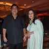 David Dhawan with wife Karuna Dhawan at Bappa Lahiri and Taneesha Verma Wedding Reception