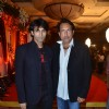 Kiran Kumar with son Vikas Kumar at Bappa Lahiri and Taneesha Verma Wedding Reception