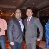 Kunal Ganjawala with Shekhar Suman at Bappa Lahiri and Taneesha Verma Wedding Reception