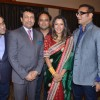 Shekhar Suman, Rupali Ganguly, Abhijeet at Bappa Lahiri and Taneesha Verma Wedding Reception