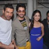 John Abraham, Ayushman & Yami Gautam at Vicky Donor special screening hosted by John Abraham