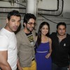 John Abraham, Ayushman, Yami Gautam at Vicky Donor special screening hosted by John Abraham at PVR