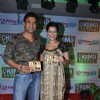 Payal Rohatgi with her boyfriend Sangram Singh at  Dham Chaukdi album launch in Andheri, Mumbai