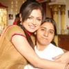 Drashti Dhami on the sets off Geet