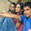 Kratika, Krystle and Vishal