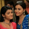Nivedita Tiwari and Jyotsna Chandola on the set of Bhagonwali