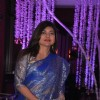 Alka Yagnik at Sunidhi Chauhan and Hitesh Sonik Wedding Reception Ceremony