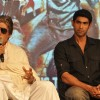 Amitabh Bachchan and Rana Daggubati at 'Department' film press meet