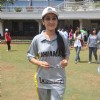 Disha Vakani at the Junnon match organised by Roataract Club of HR College in Mumbai