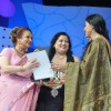 Saira Banu and Kajol at Dadasaheb Phalke Academy Awards in Mumbai