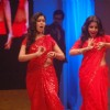 Saakshi Tanwar and Vidya Balan shaking leg on stage in Bade Acche Lagte Hai