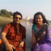 Eijaz Khan and Neha Janpandit on sets of Shubh Vivah