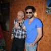 Mukesh Bhatt and Emraan Hashmi promote 'Jannat 2' at Gaiety Theater