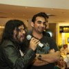 Pritam and Kunal Deshmukh at the premiere of Jannat 2 at Diera City Centre Dubai
