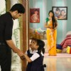 Gurmeet and Kratika on sets of  Punar Vivah
