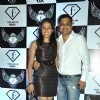Niveditaa Saboo with husband Badal at the launch party of F Lounge