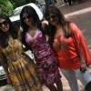 Shamita Shetty, Kiran Bawa & Rupali shah at Shilpa Shetty Baby Shower function