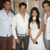 Karan Singh Grover, Jennifer Winget and Amit Tondon