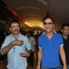 Rajkumar Hirani, Vidhu Vinod Chopra and Bhushan Kumar at First Look Film 'Ferrari Ki Sawari'
