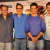 Vidhu Vinod Chopra, Sharman Joshi and Rajkumar Hirani at First Look Film 'Ferrari Ki Sawari'