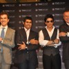 Jean-Christophe Babin, Karun Chandhok, Shahrukh Khan at Tag Heuer watch launch