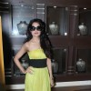 Yuvika Chaudhry at D'damas store in Malad, Mumbai. .