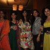 Anita More, Deepshika, Sandhya, Ravee, Uvika at new collection unveiling of designer Anita More