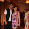 Keshav Arora and Deepshika at the new collection unveiling of designer Anita More