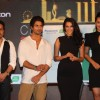 Mika, Shahid Kapoor, Neha Dhupia and Sonakshi Sinha at IIFA Awards 2012