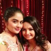 Giaa Manek with her friend at SPA 2012